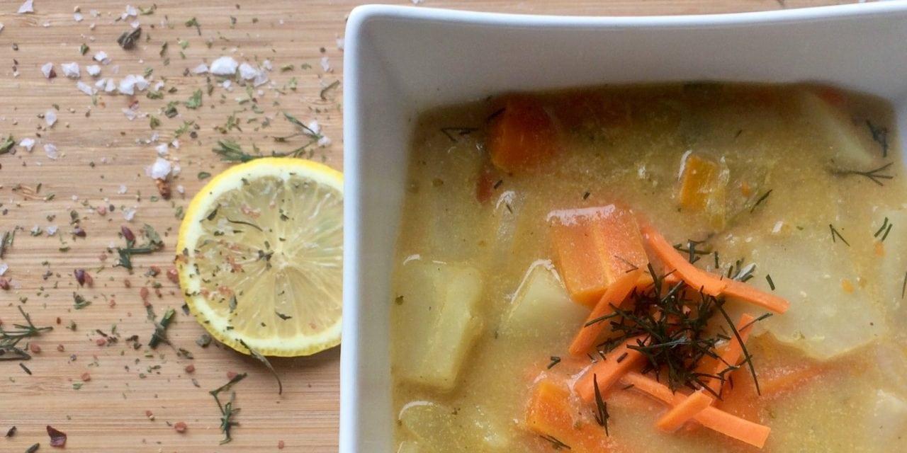 Vegan Potato Dill Soup