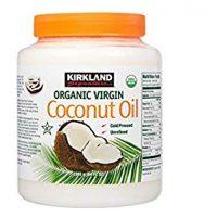 Kirkland Signature Organic Virgin Coconut Oil Cold Pressed Unrefined, 84 Fl Oz