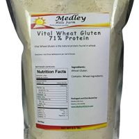 Medley Hills Farm Vital Wheat Gluten 71% Protein 2.5 lbs