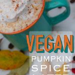 easy/healthy/recipe/starbucks/pumpkin spice latte/vegan/plant based/dairy free/ fall/autumn/halloween/thanksgiving