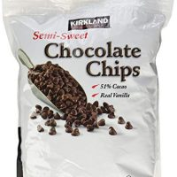 Kirkland Signature Semi-Sweet Chocolate Chips, 72 Ounce