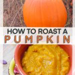 how to roast a pumpkin in the oven/how to make pumpkin puree