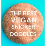 easy vegan snickerdoodles/snickerdoodle