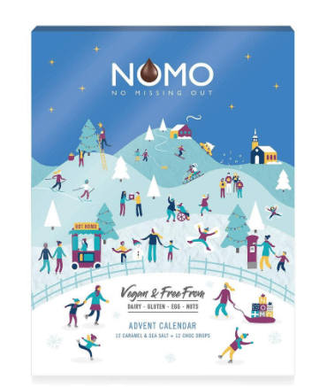 nomo vegan advent calendar