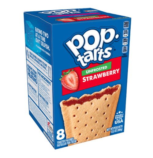 vegan unfrosted pop tarts